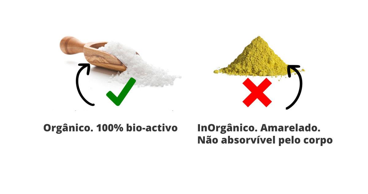 Enxofre Orgánico vs Enxofre Inorgánico