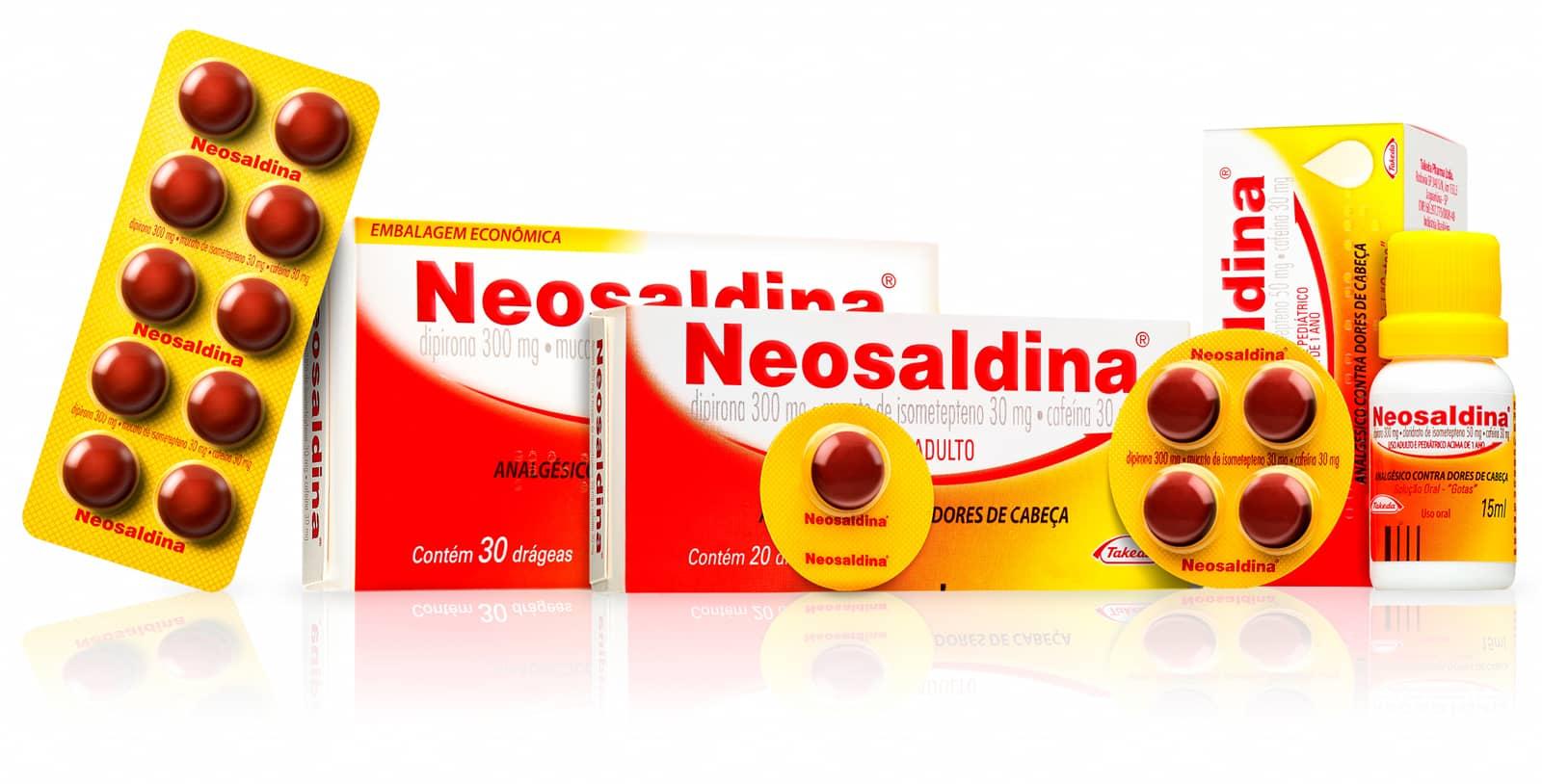 Neosaldina - Comprimidos e Gotas