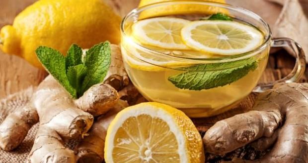 Chá de Gengibre e Limão - Remédio Caseiro para a tosse